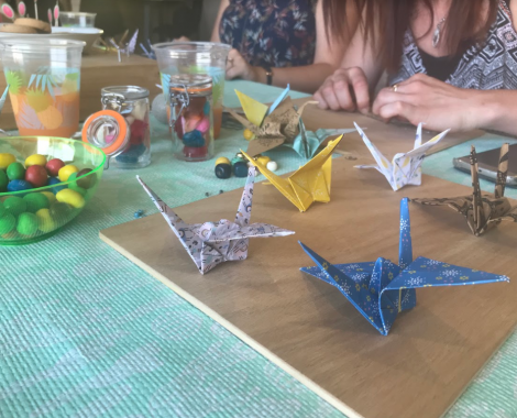 Cours particulier d'origami